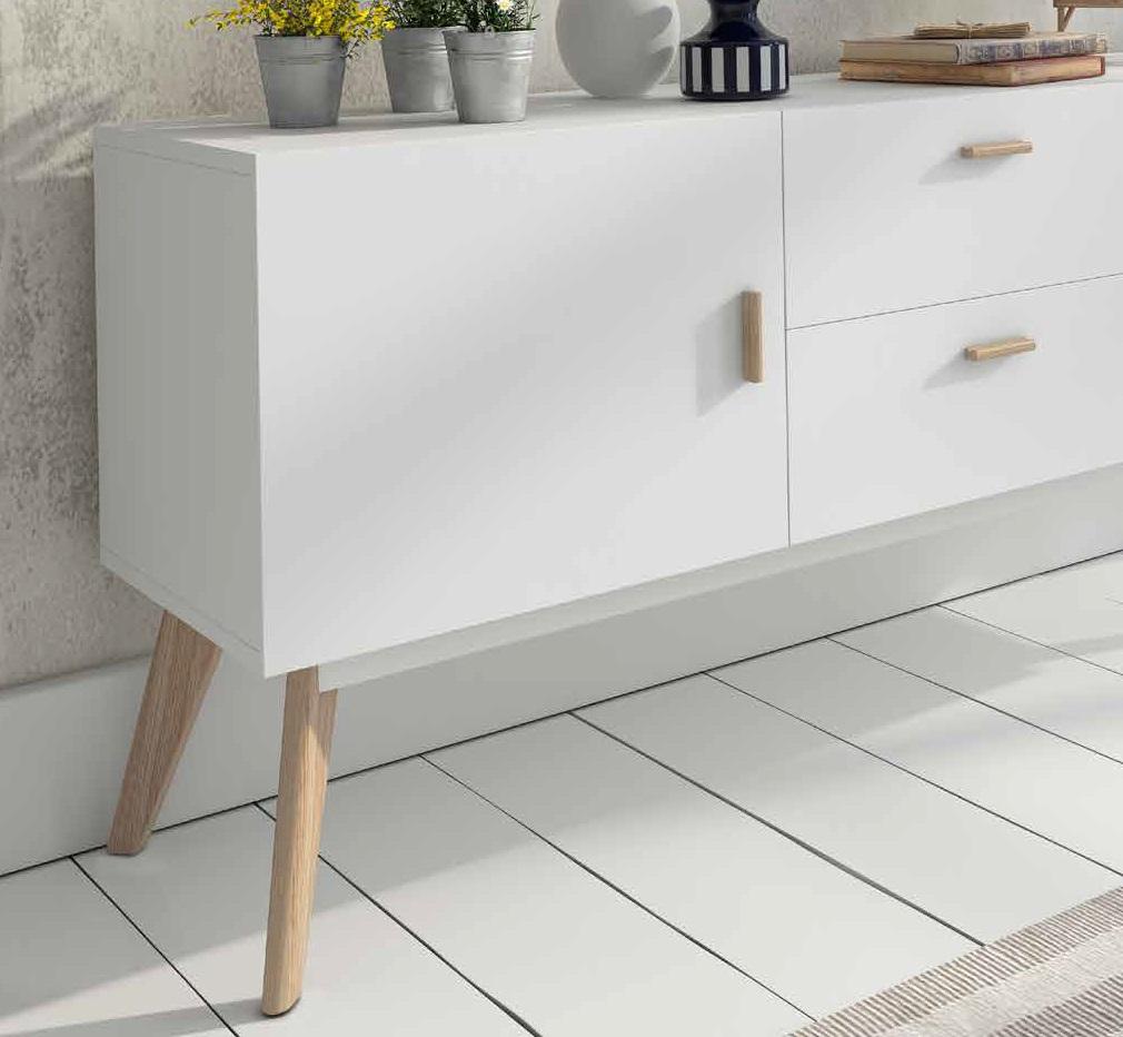Adesivo Delineador Karen Bachini ~ Aparador estilo nordico vintage W 900 Dugar Home www regaldekor com