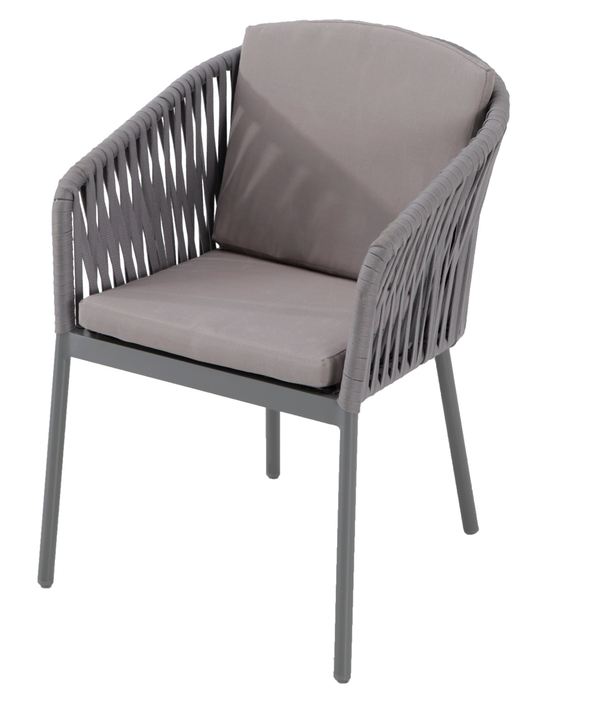silla terraza respaldo cuerda