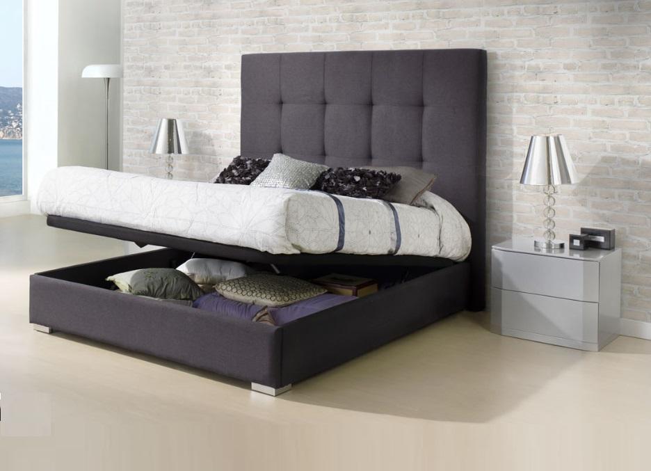 Camas con canape abatible affordable cama enif con canap - Canapes de camas ...