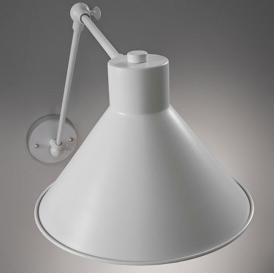 Lampara aplique metal blanco New Antic
