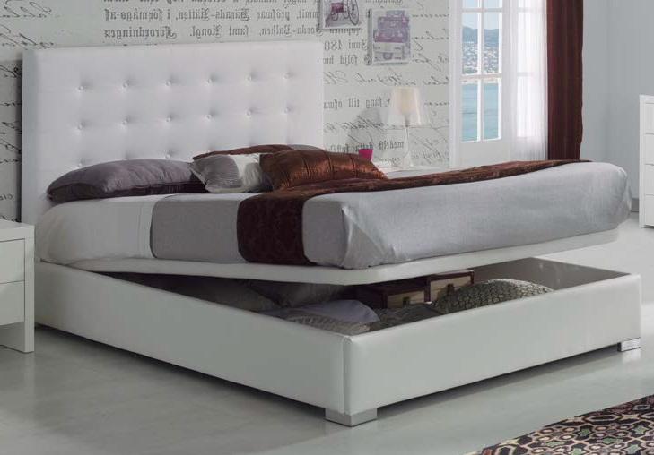 Camas canape aros y camas with camas canape top canap for Cama tapizada