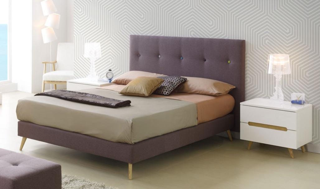 Cabezal tapizado botones lena - Cabezal de cama tapizado ...