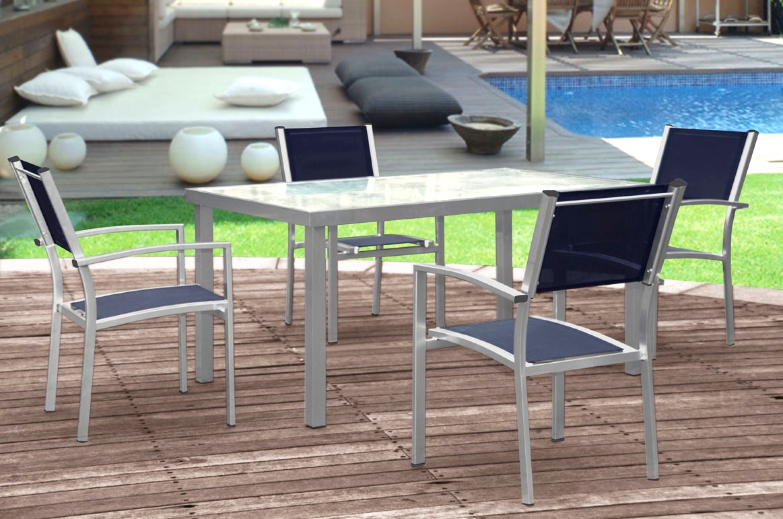 Conjunto de terraza y jardin aluminio grand benidorm www for Conjuntos de jardin en aluminio