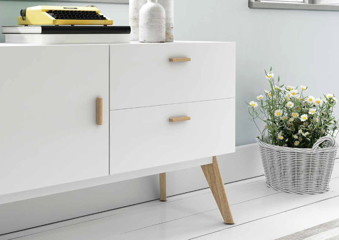 Aparador de estilo nordico vintage w 901 dugar home www - Muebles estilo nordico ...