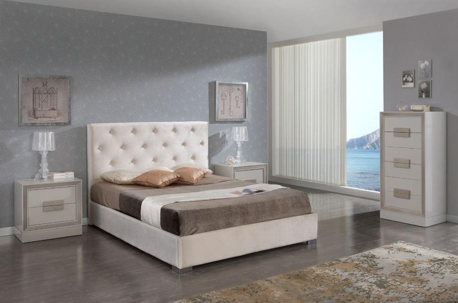 Cabezal tapizado capitone ana - Cabezal cama tapizado ...