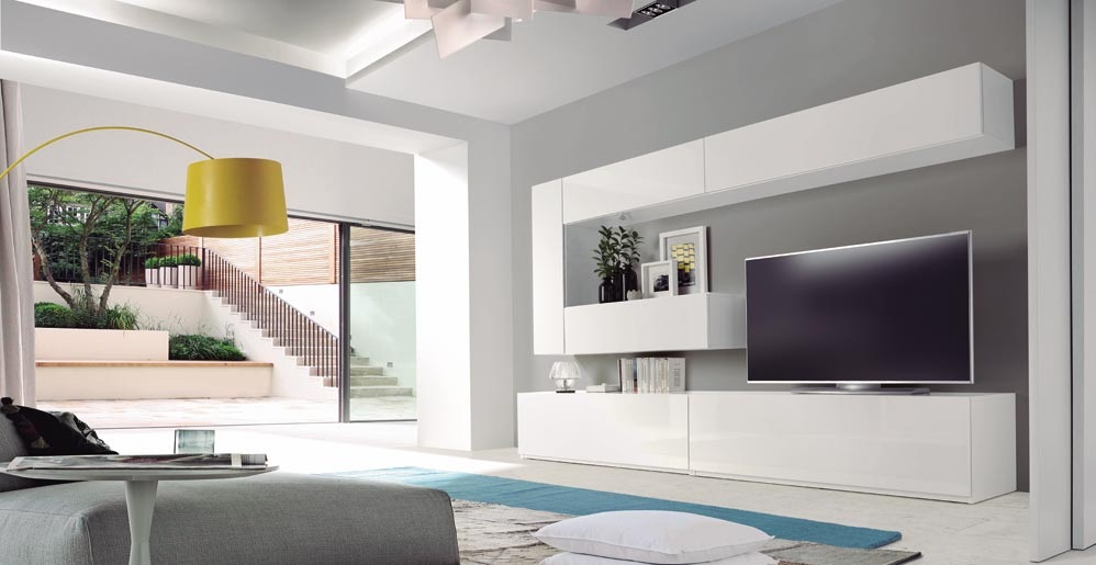 Modulo de colgar vertical 150cm dugar home www - Modulos para salon ...