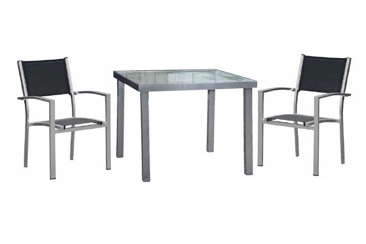 Conjunto de terraza aluminio benidorm for Conjuntos de jardin en aluminio