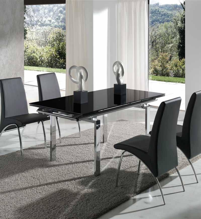 Conjunto de comedor mesa osaka sillas arco www - Conjunto mesa extensible y sillas comedor ...
