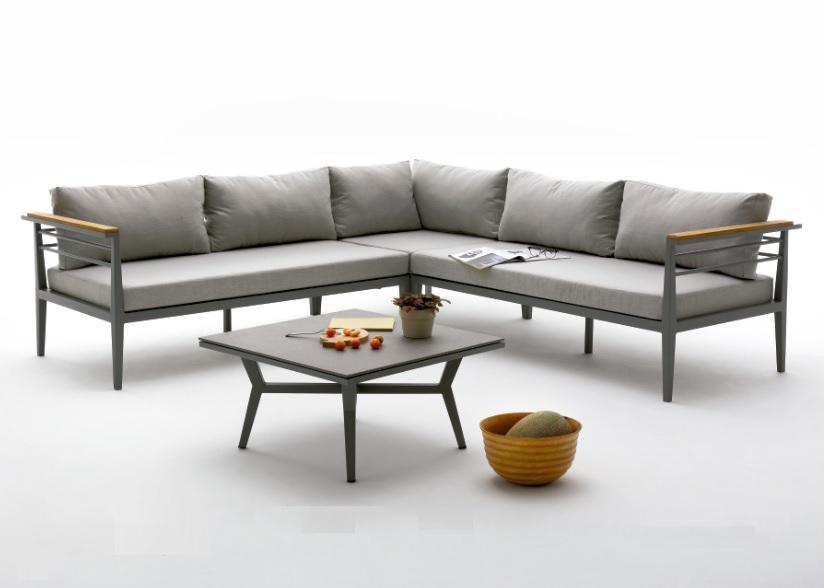 Sofa de terraza esquinero genova for Sofa esquinero cocina