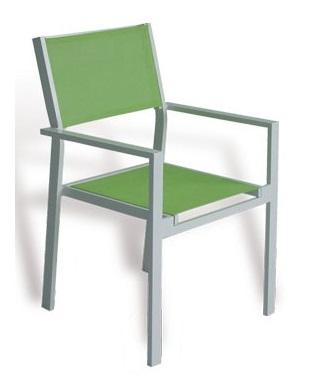 sillas de terraza verdes