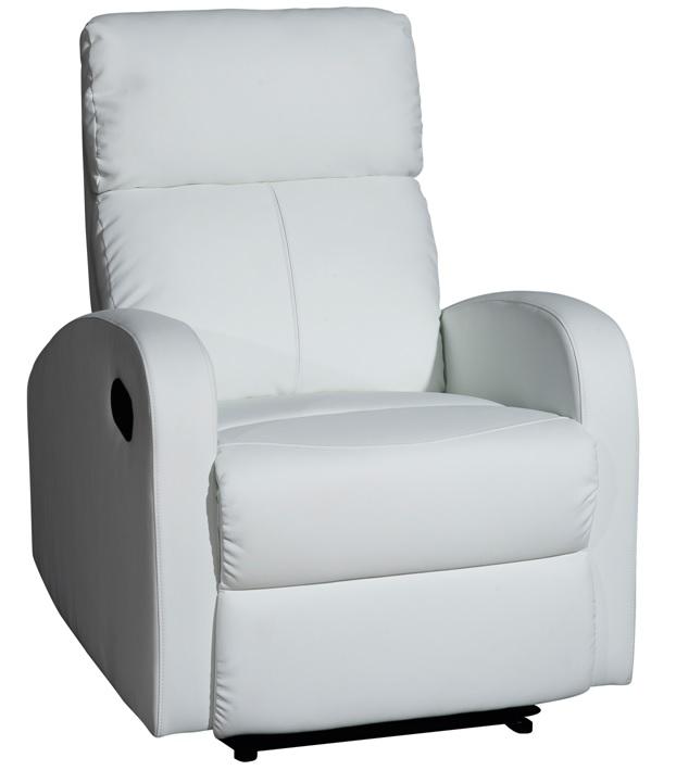 sillon relax reclinable tavira blanco