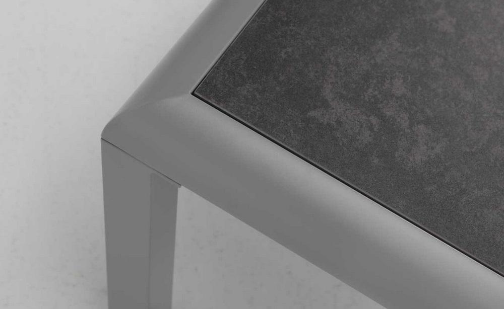 Set sofas terraza aluminio grafito mamba for Aluminio productos de fundicion muebles de jardin