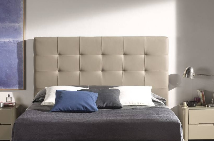 Cabecero tapizado cuadros belen - Cabecero cama tapizado ...