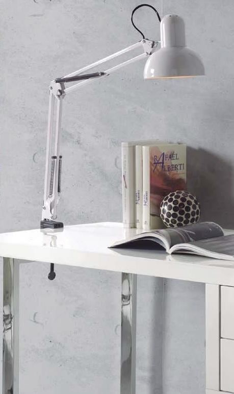 Lampara flexo soporte escritorio classic blanco - Flexo escritorio ...