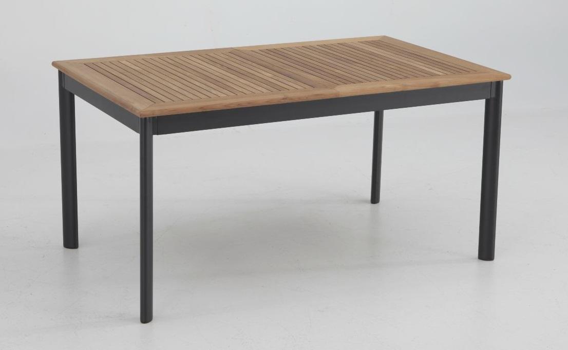 Conjunto terraza thule teka aluminio mesa extensible 4 - Mesas de terraza extensibles ...