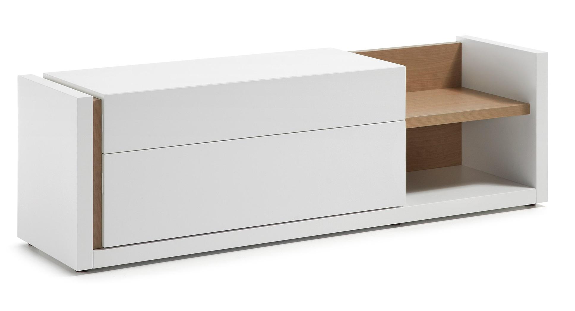 Muebles blanco mate 20170907082044 Mueble tv blanco brillo